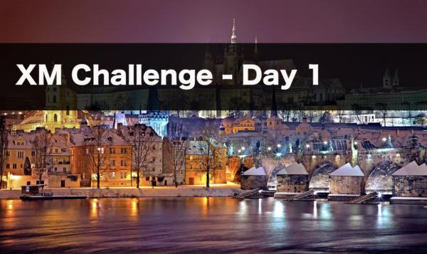 【1日目】XMチャレンジ | 最短で1万から100万まで目指す